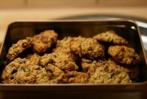 Guarana-Haferflocken-Kekse